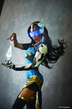 Overwatch - Symmetra by vaxzone
