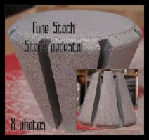 fune-stock_stone_pedestal by Fune-Stock