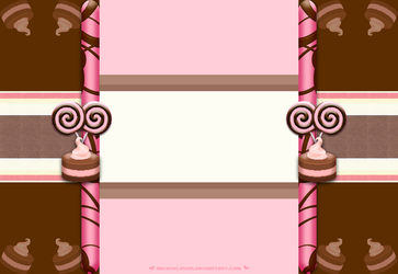Candy Shop Background Layout by MikaVKlover