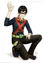 Robin The Boy Justice COLOR by Hybryda