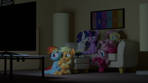 Movie Night by storm-flash