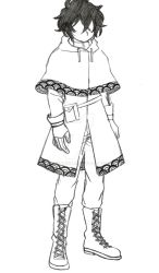 (BNHA OC) another Mika hero outfit design by HikumiRin