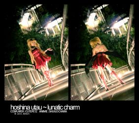 Hoshina Utau x Lunatic Charm by roxwindy