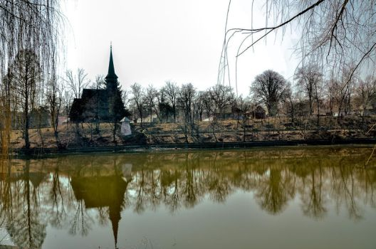 Park of National Village Museum , Bucharest by mihaizen