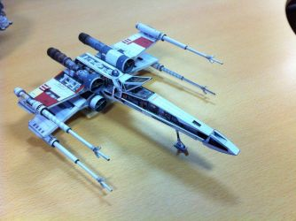 Papercraft X-Wing (complete) by Ohnhai