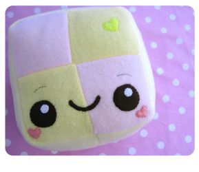 Battenburg Plushie by kickass-peanut