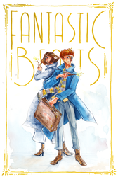 Fantastic beasts by SpeakLike-a-Child