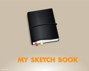 my sketch book by hezral