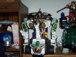 ZORDS 1 - MMPR Ultrazord by bhsdesk