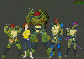 Commission: TMNT by Todd3point0