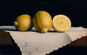 Lemons and Linen by VRobson-Breault