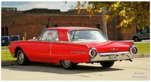 A Red 1962 Ford Thunderbird by TheMan268