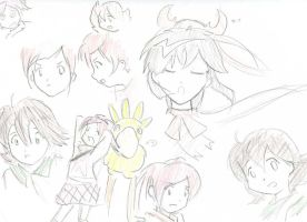 FFU sketches by sweetrice