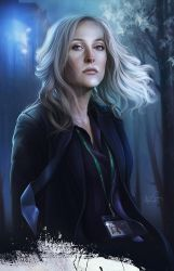 Stella Gibson by CatherineNodet
