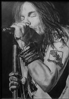 Axl Rose sketch by Laura10June