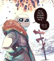 Lost Sans by OracleSaturn