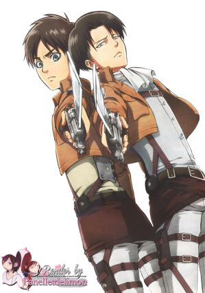Which one? Levi x Male Reader x Eren CH1 by PharaohJill on DeviantArt