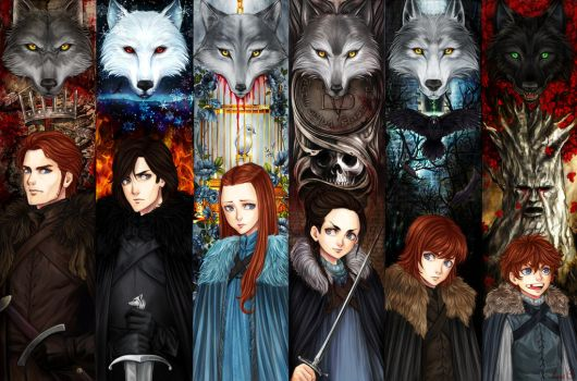 The Stark Children by AireensColor