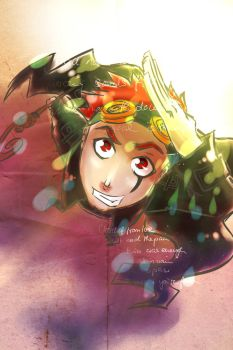 Jack Spicer Again by hielorei
