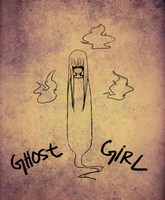 ghost girl - day 16 by mosuga