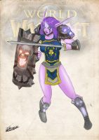 Night Elf Warrior The Undying by Porch3s
