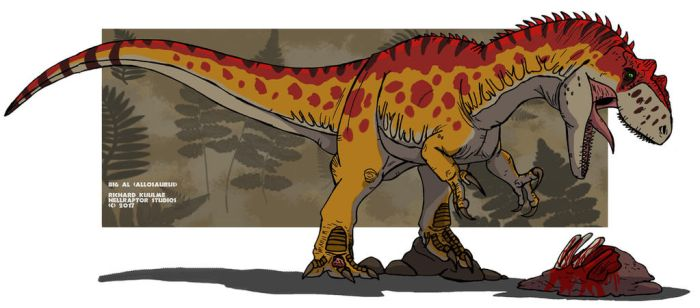 Big Al the Allosaurus by HellraptorStudios