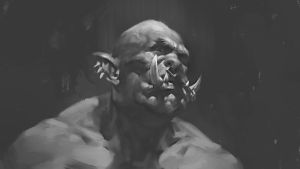 Orc sketch by Samarskiy