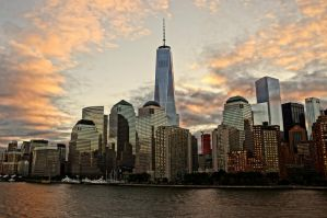 manhattan daybreak by Mittelfranke
