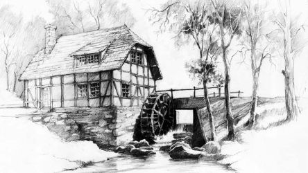 Watermill by micorl