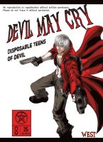 devil may cry comic DANTE by wesvin