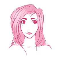 Face Study - Pink by StarTrippy