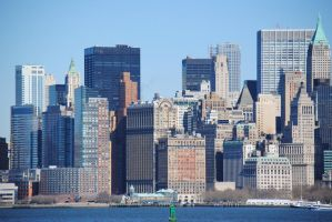Skyline of New York City by Swaal