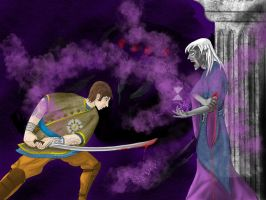 Erath against the drow by Lathminster