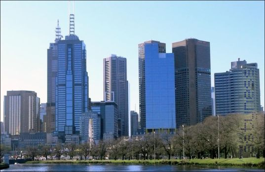 City of Melbourne by Astarsia