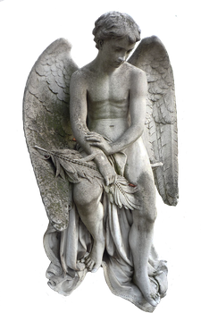 Angel statue stock PNG by Shadow-of-Nemo