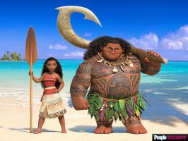 First Look at Disney's Newest Princess Moana by Artlover67