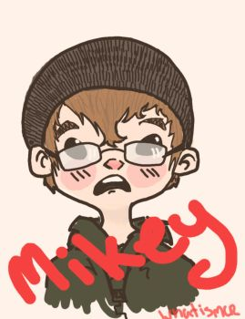 Mikey by Halessies