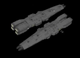 Eradicator Battleship by Quesocito