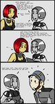 Mass Effect 3: Shopping with EDI by bookwormcat
