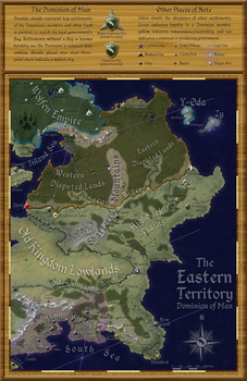 The Eastern Territory: Final Version by Will-Erwin
