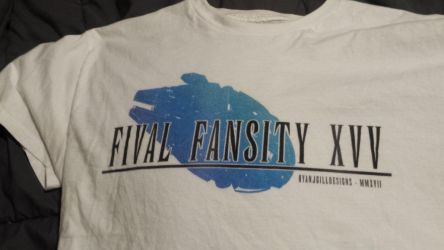 Fival Fansity XVV - My Latest Shirt by RyanJGill