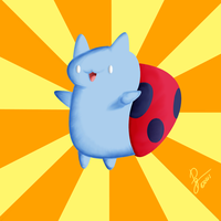 Catbug! by viral-reject