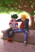 BnHA - If we grew up together by Nara-chann