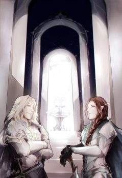 the Gate of Gondolin by vampiry