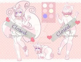 Closed adop pastel Fox Girl by ShojoJackalope