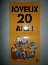 The Simpsons,Joyeux 20 ans by Alicetiger