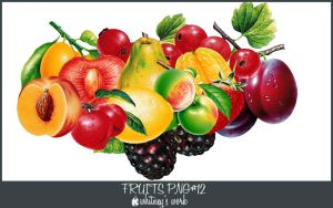 Fruits PNG by Kmhwhitney