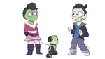 Invader Zim 50/60's AU by TheWolfPie