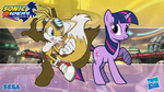 Sonic Riders Wallpaper #2 - Tails and Twilight by lukaafx