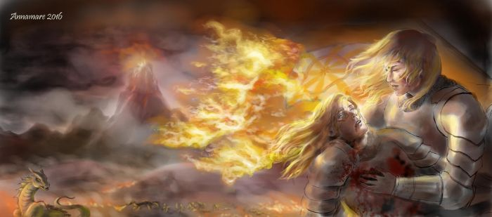 Fallen Fire by annamare